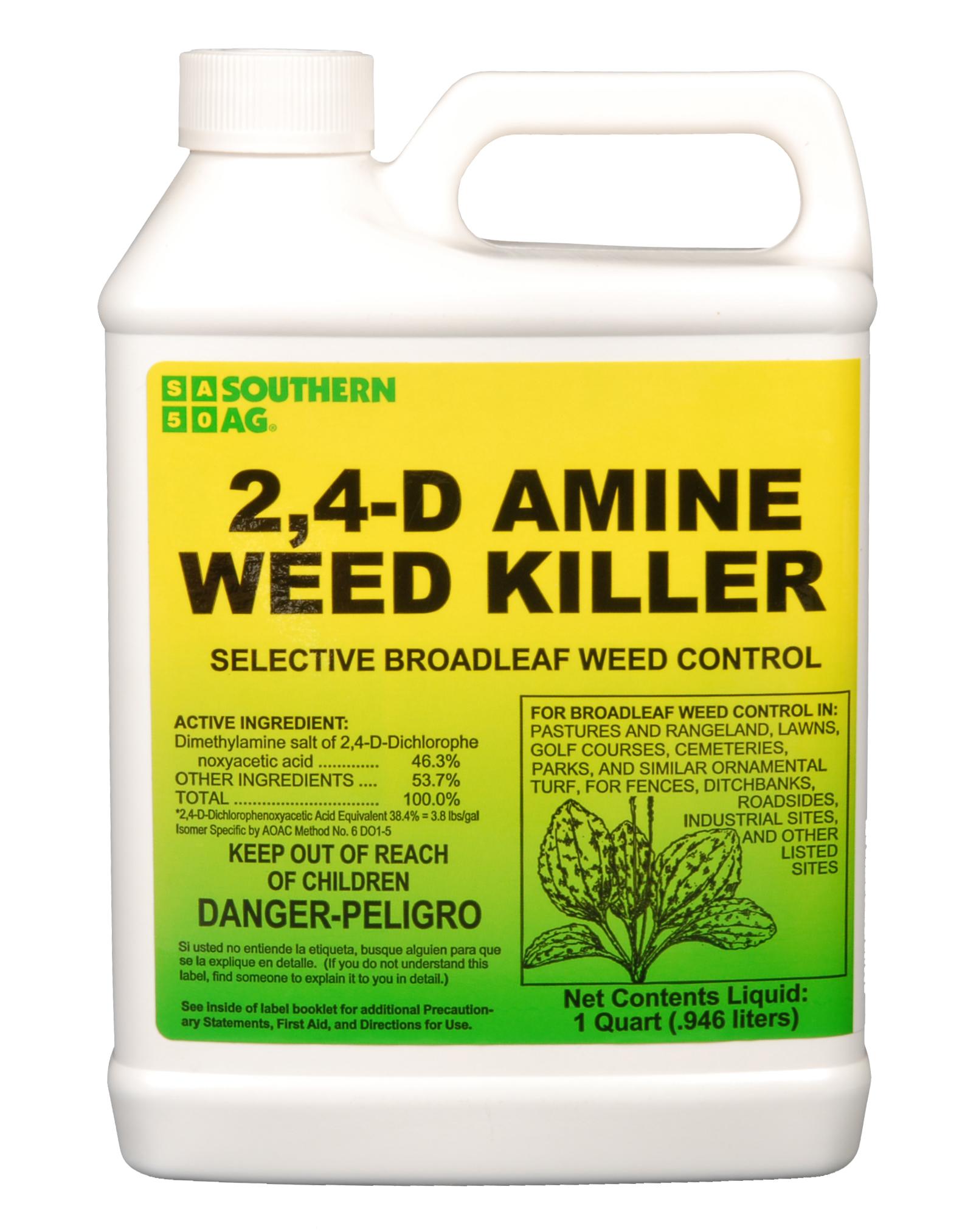 2-4-D Amine Weed Killer Qt