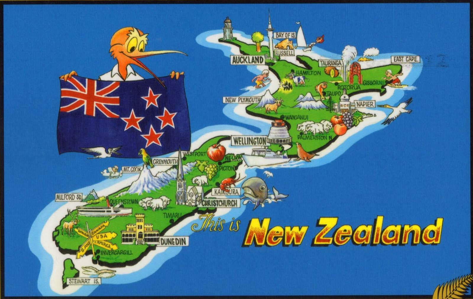 Natural Resources Of Australia And New Zealand