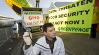 "Greenpeace distributes ""Anticorp"" to politicians in order to boost their immunity against pro GMO industry lobby"