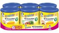 gerber lil crunchies