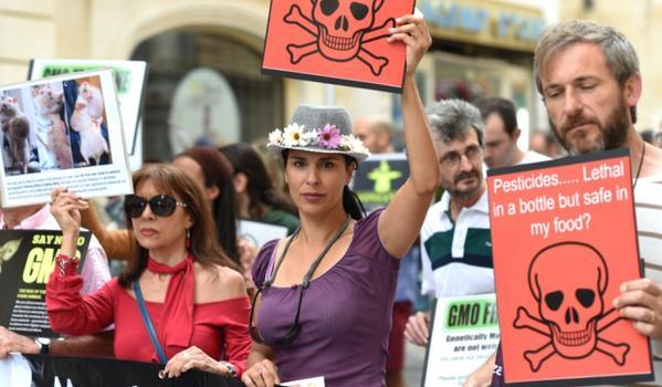 Malta gm march against monsanto