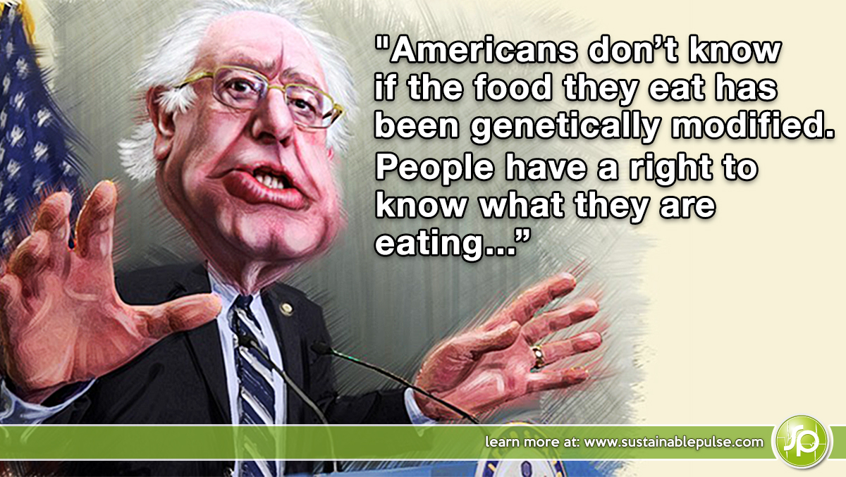 Bernie Sanders Quotes | Bernie Sanders The Only Us Presidential Candidate Supporting Gmo