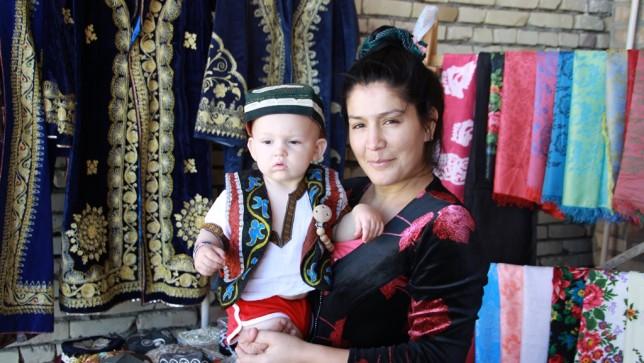 Uzbekistan baby