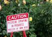 pesticide-sign