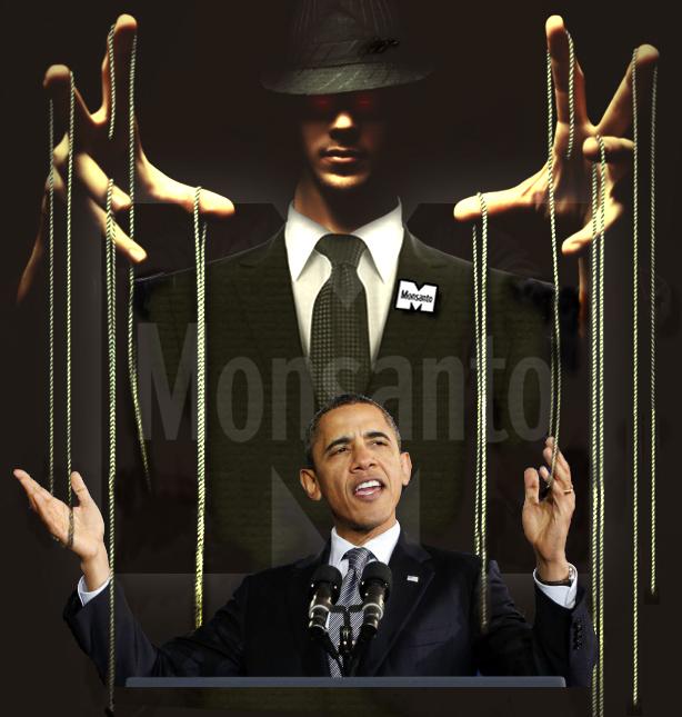 Obama Monsanto's puppet