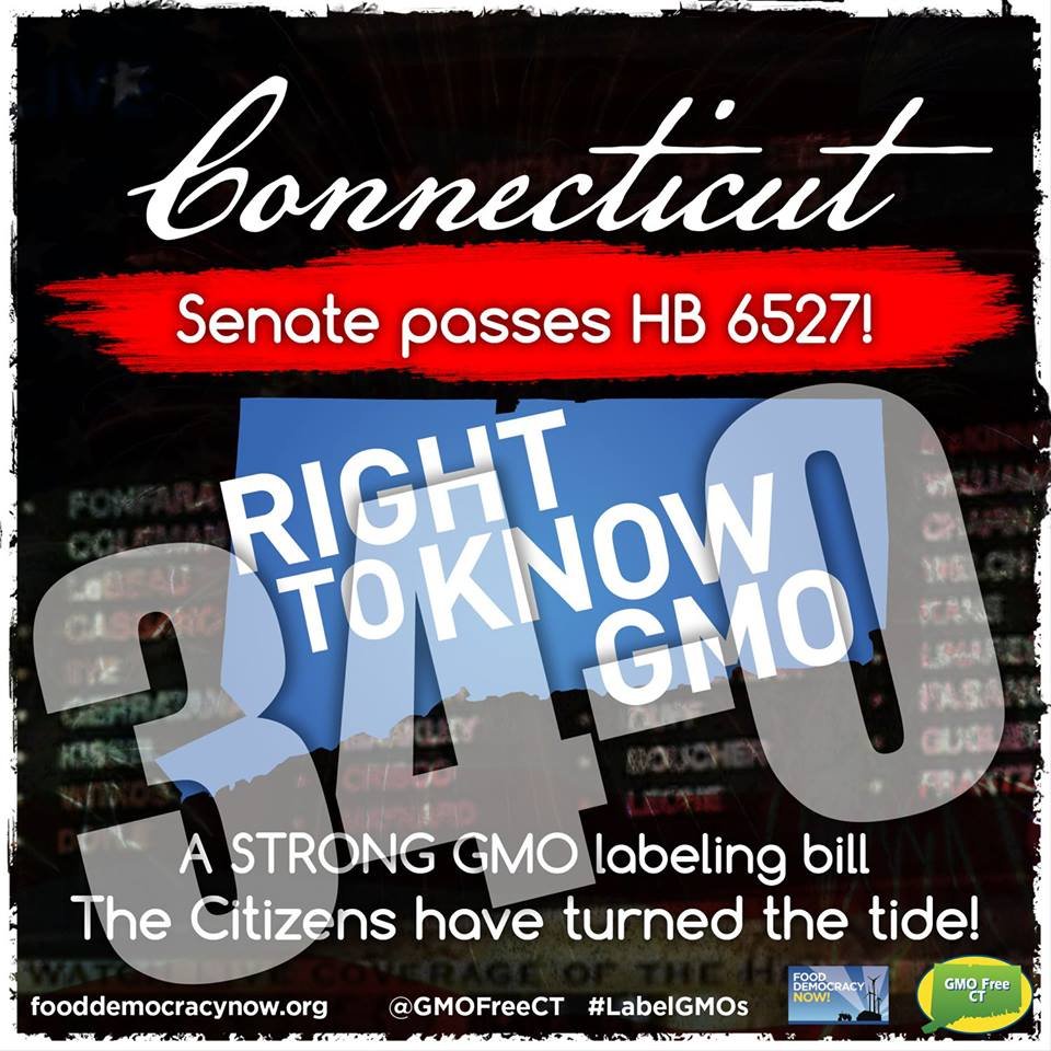 connecticut gmo labeling