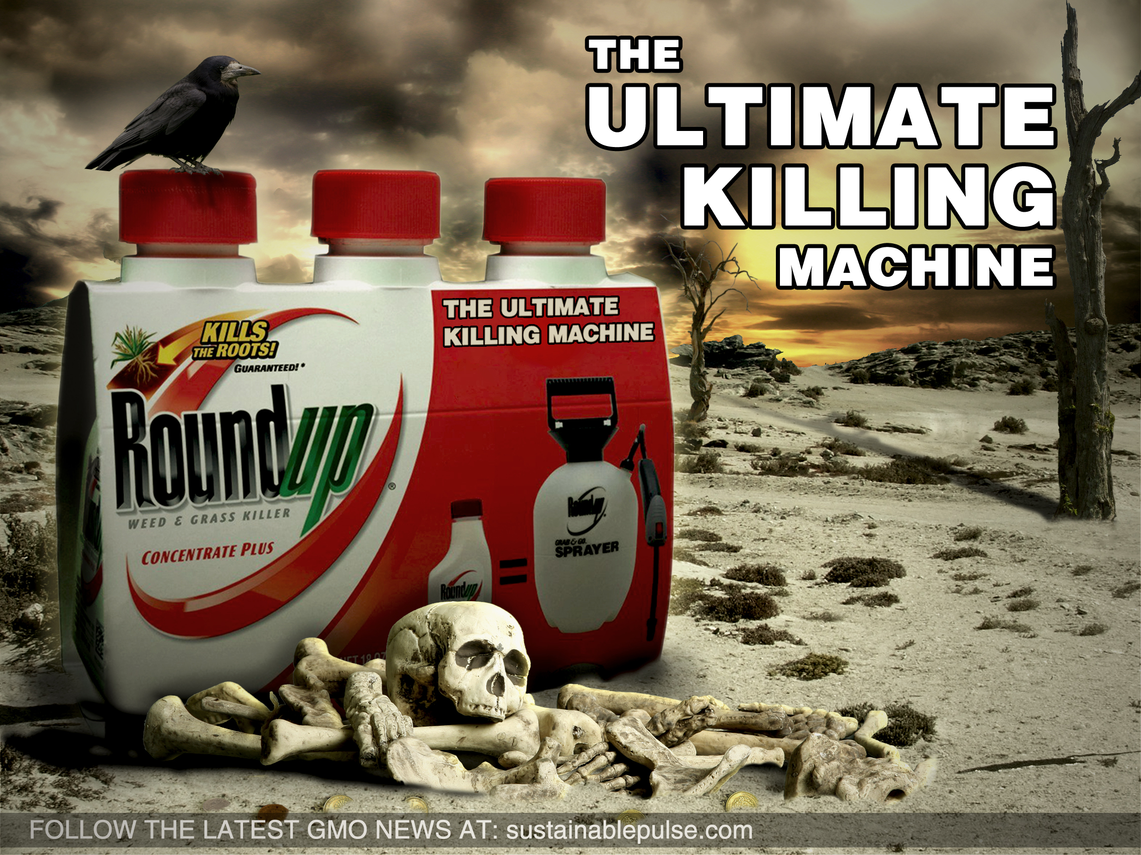 Death from Roundup