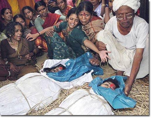 Indian farmer suicides Monsanto